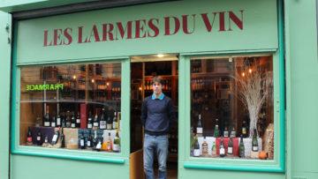 L'ancien sommelier Alexandre Chalmandrier & Les Larmes du Vin