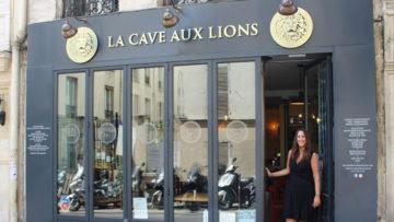 Cécile Vion et La Cave aux Lions, à la fois bar à vins, cave et concept store