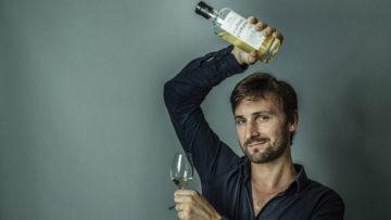 Portrait de Benjamin Kuentz, éditeur de whiskies