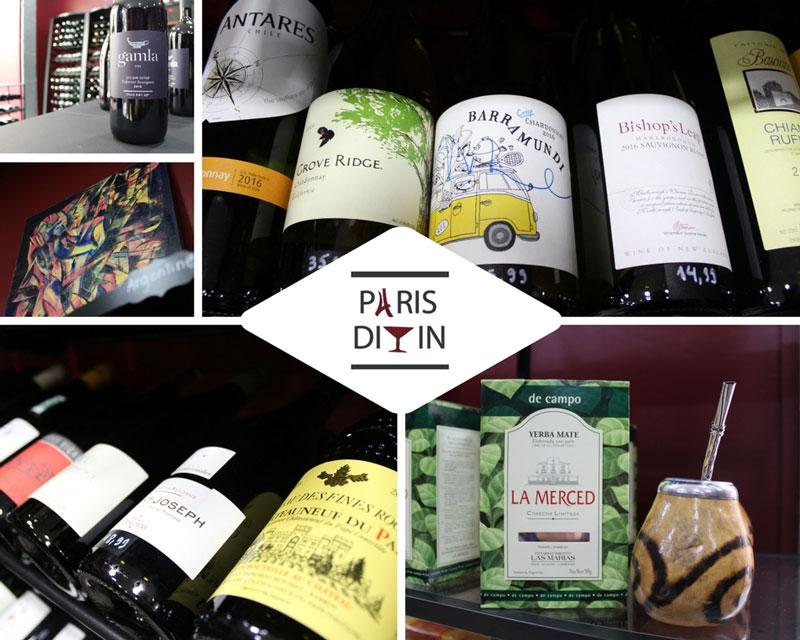 Paris Divin spécialiste vins argentins