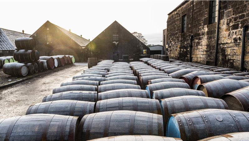 Benriach, fûts bourbon xeres porto rhum
