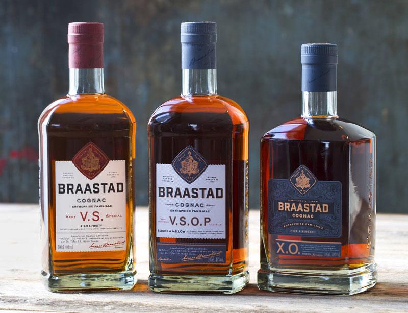 Braastad gamme de cognac