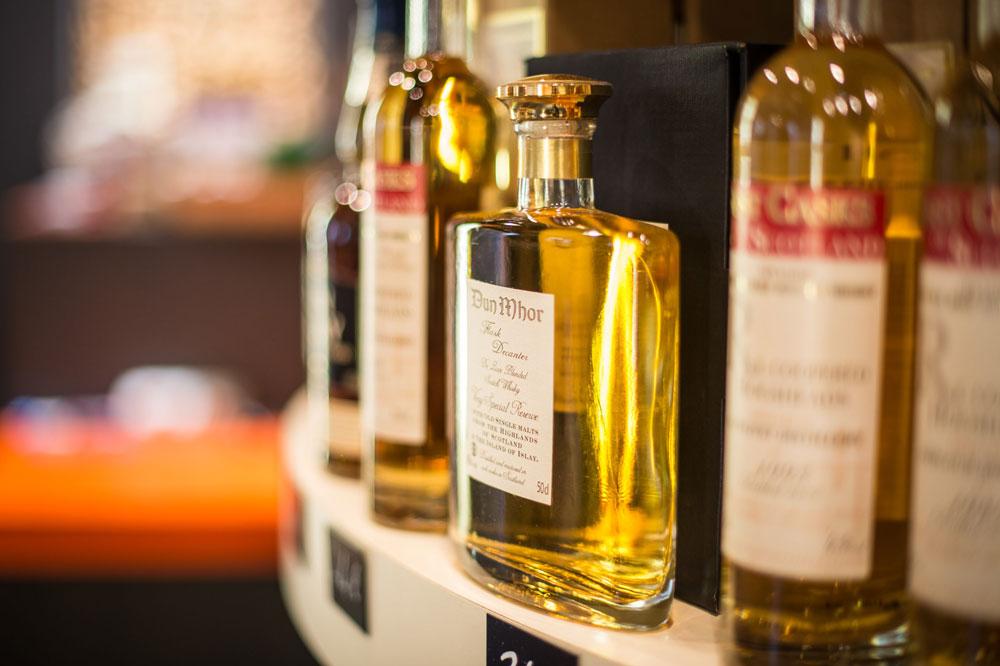 Whisky Dun Mhor, La Cave Ô Papilles, Lyon,