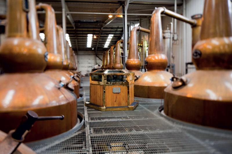 Ailsa Bay distillerie